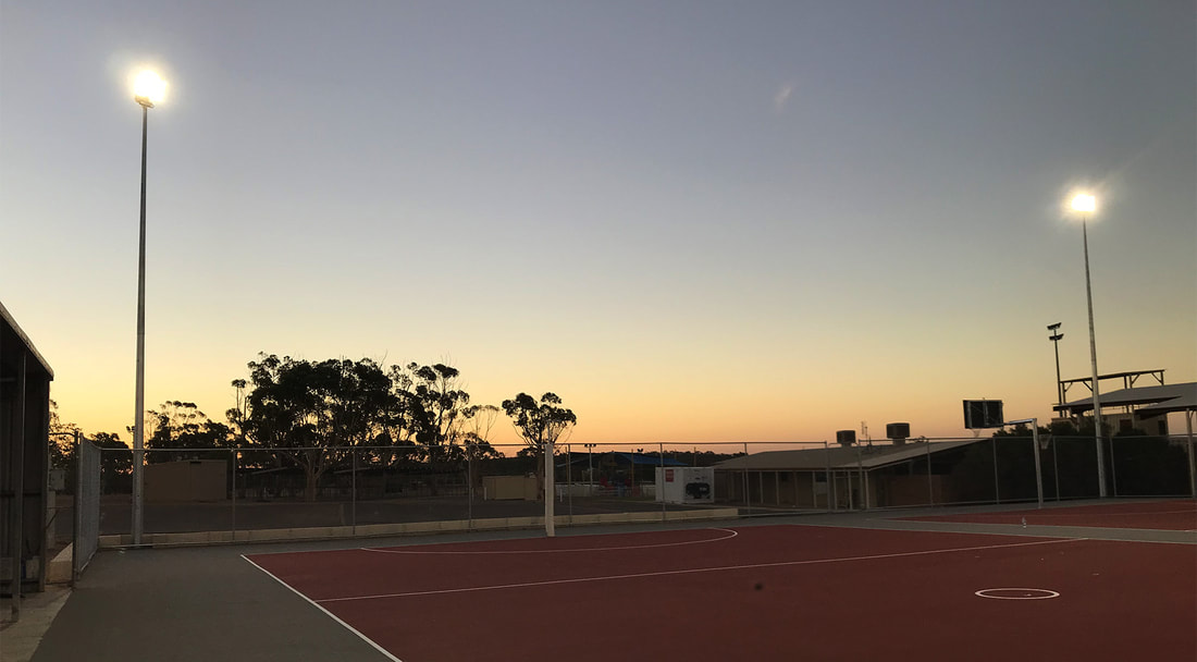 Sports Fields, Sporting Grounds, Courts Lighting Contractor Perth WA, LED Sports Lights Installation