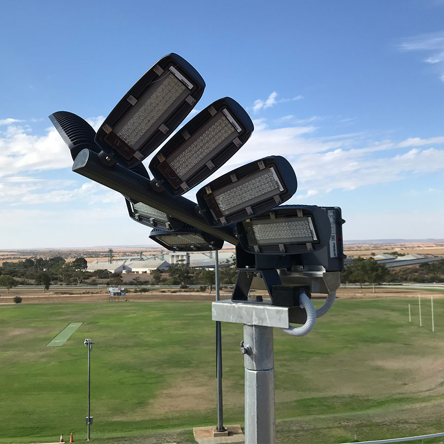 Sports Field Arena Court Lighting Light Pole Repair Maintenance Perth WA